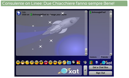 Chat on Linee